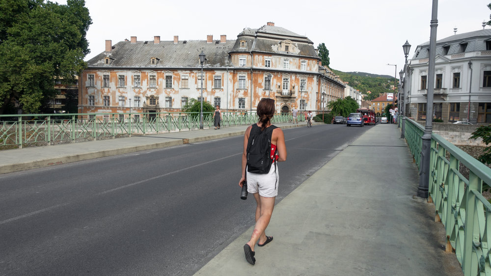 Wandering the streets of Esztergom