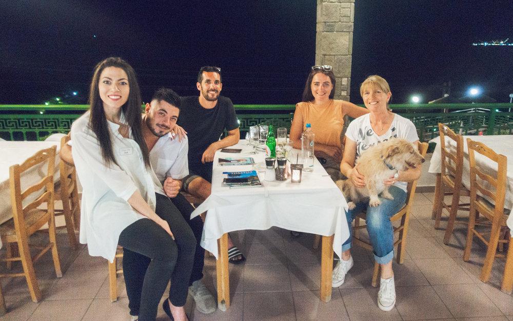 An evening at Hotel Dionysos!