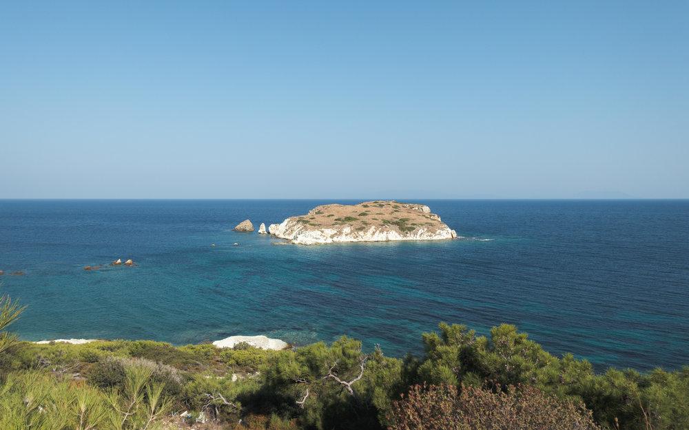 The beautiful Aegean!