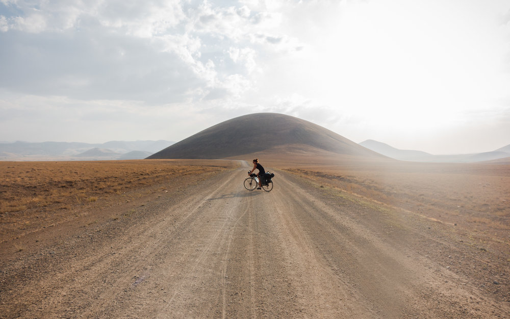 The surreal landscape before Ihlara Valley, Turkey
