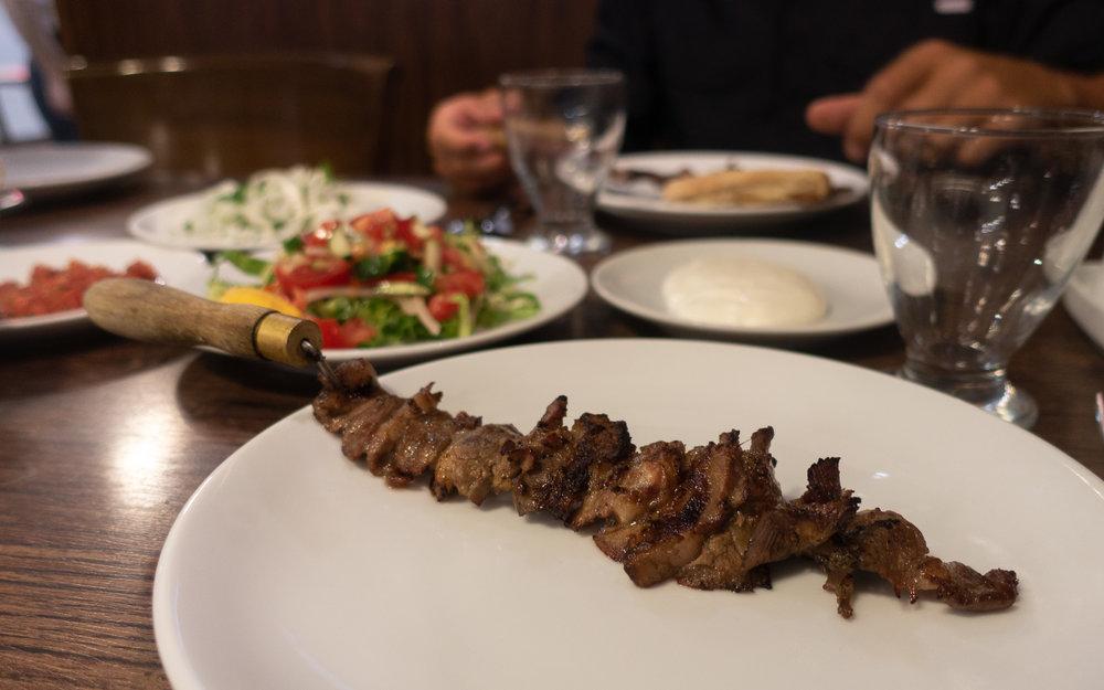 Cag kebab, Erzurum