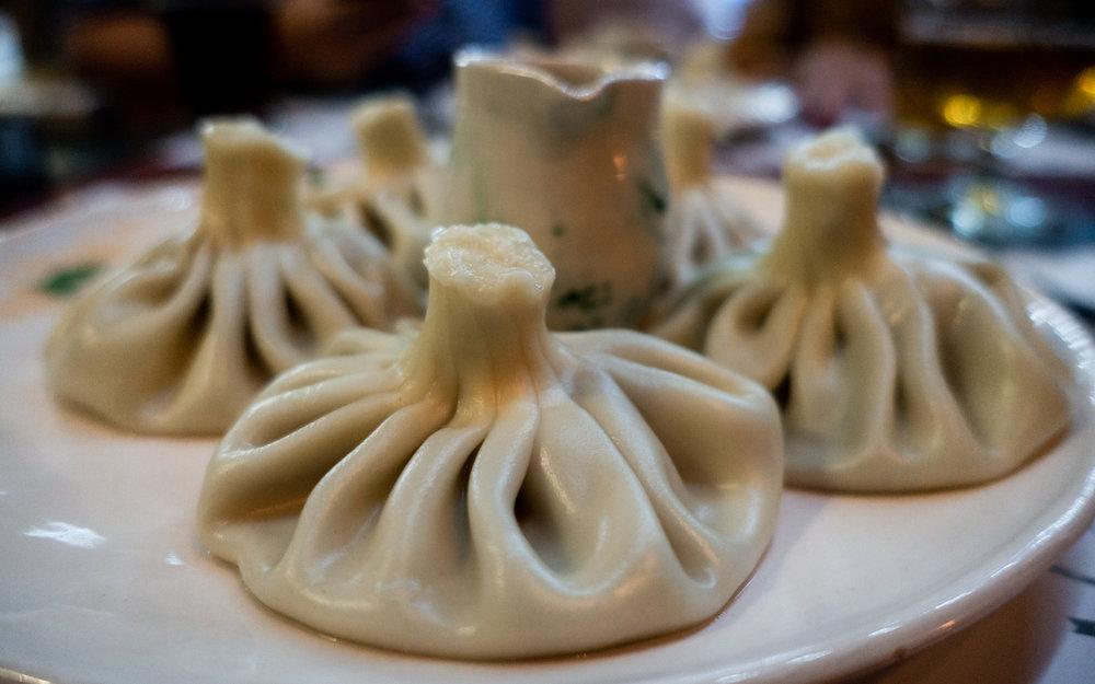 Khinkali, Georgian dumplings