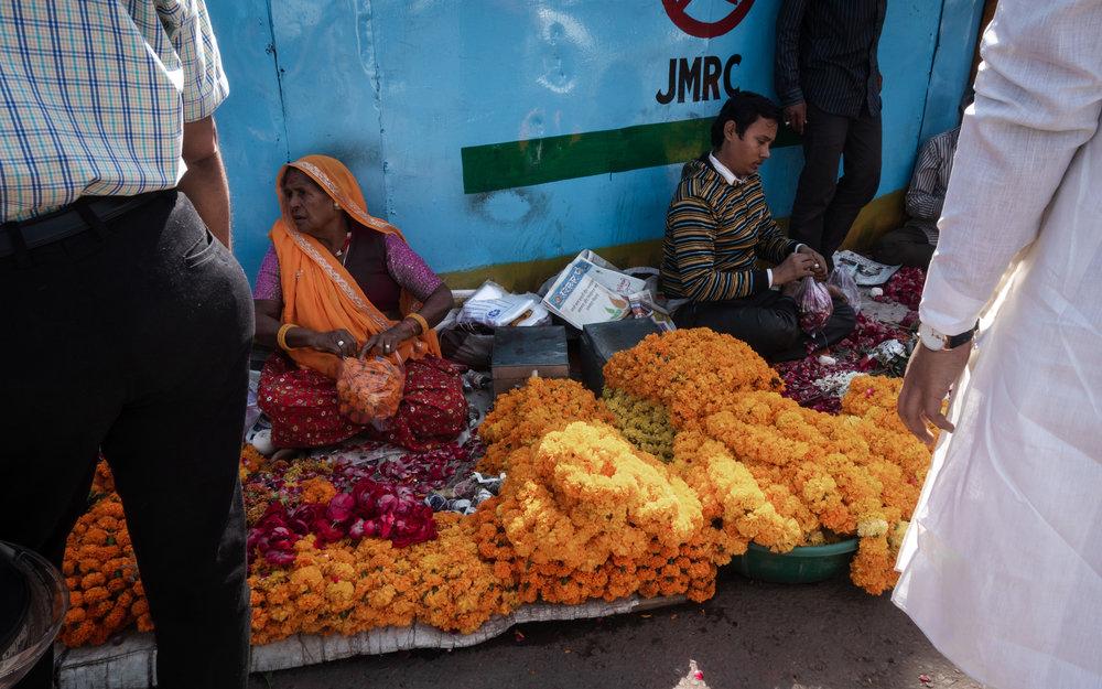 Marigold garlands on sale