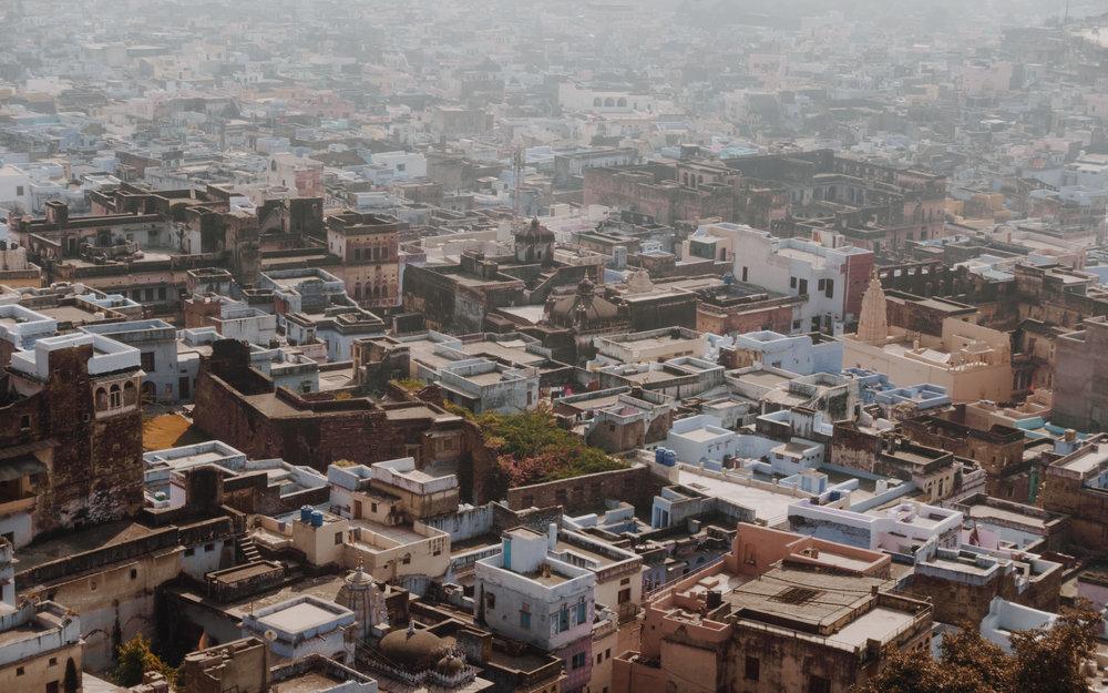 Rooftops of Bundi