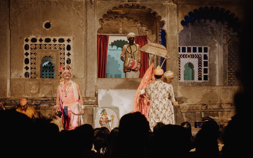 Dharohar at the Bagore-ki-haveli
