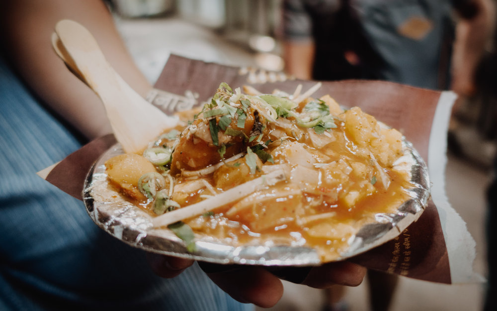 Street food, Old Delhi