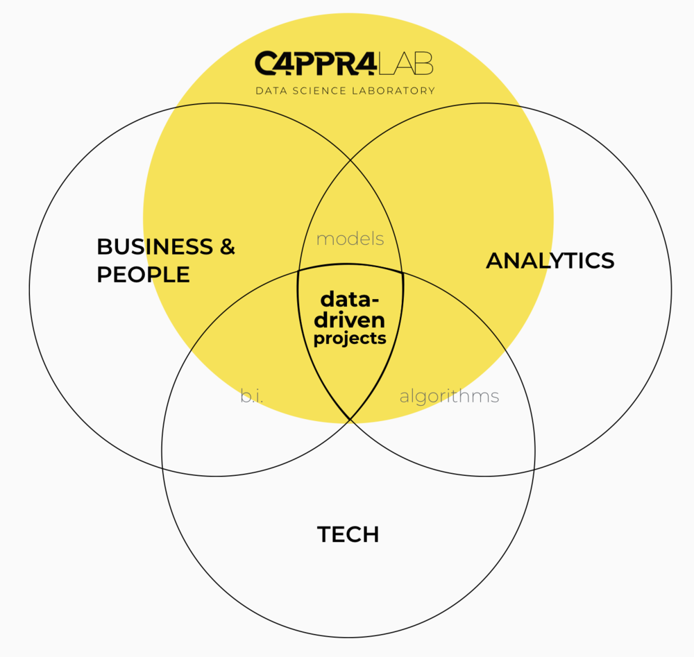 Como esse programa foi desenvolvido: - Dentro do laboratório de ciência de dados da CAPPRA são desenvolvidos métodos para resolver problemas complexos através do uso de ciência de dados. Durante o programa CAPPSULA, a organização/cliente conecta-se diretamente com o laboratório da CAPPRA, com acesso exclusivo aos cientistas e ao estúdio de criação de métodos, tudo com o objetivo de acelerar a implementação de cultura analítica. Durante a evolução do processo, o laboratório da CAPPRA vai transferindo métodos/processos/ferramentas para que a organização/cliente seja independente do laboratório, criando assim uma cultura orientada por dados internamente.