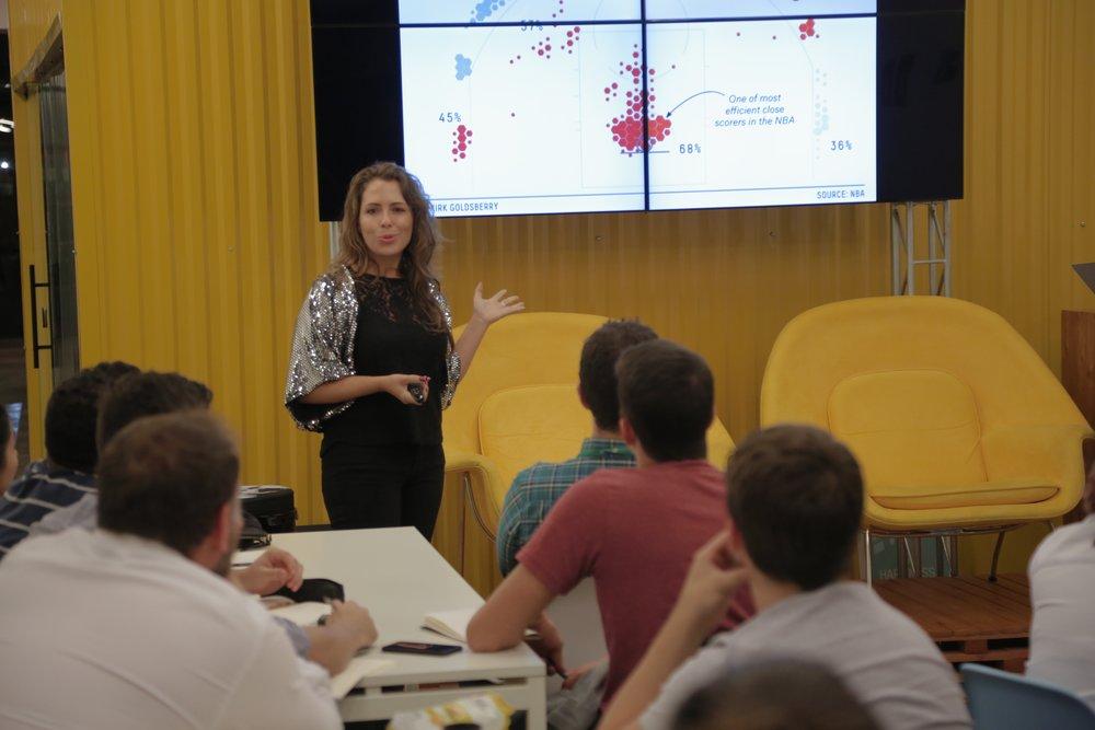 Programa BARBARA:  - Um laboratório para futuros cientistas de dados.(Porto Alegre, São Paulo, Belo Horizonte e Florianópolis)