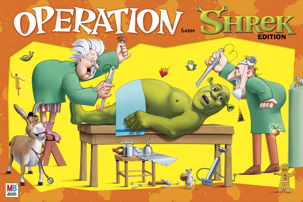 Shrek Operation Package