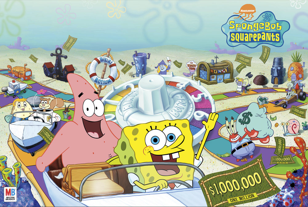 SpongeBob Squarepants Game of Life Package