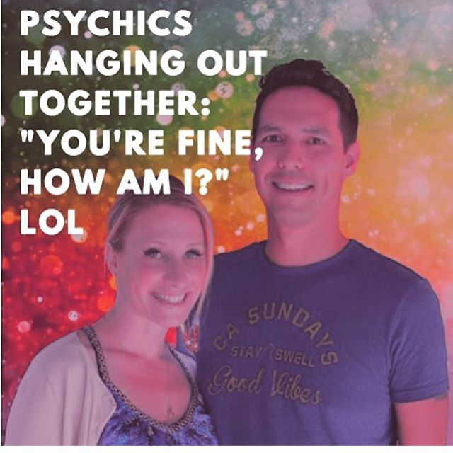 🙃🙂 hee hee,💗 my psychic & healer friends 🌈  found @tarotbleeaccurate  #quotestagram #psychic #intuitive #psychicjokes #empaths #energies
