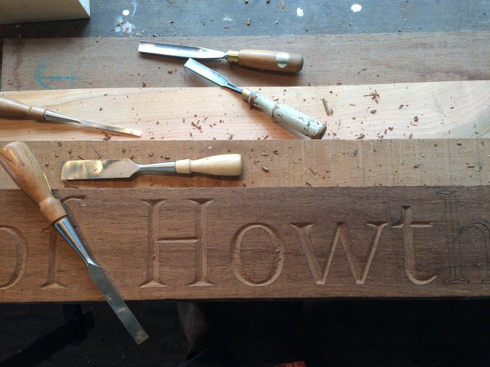 Letter Carving Short Course