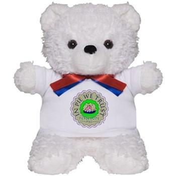 """""""In Pie We Trust"""" Teddy Bear"""