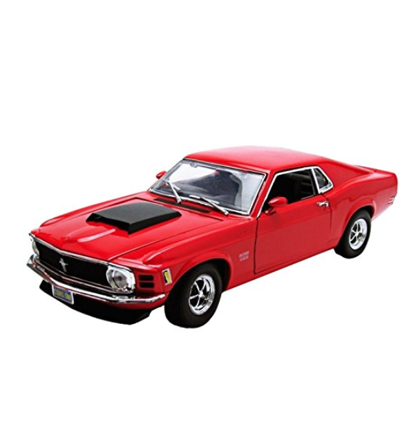 Motormax 1:18 1970 Ford Mustang Boss 429 Vehicle, Assorted