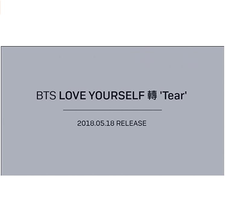 Bts LOVE YOURSELF 轉 'Tear' 4SET Photobook+Minibook