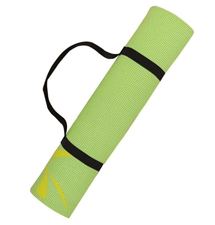 Harbormill Bamboo Leaves Yoga Mat, Lemongrass