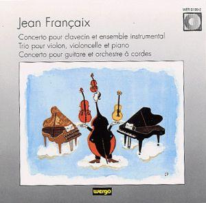JEAN FRANÇAIX Concerto pour guitare et orchestre - Südwestdeutsches Kammerorchester Cond. Hans Richter