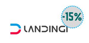 z tym linkiem otrzymasz -15% na usługi w Landingi.pl