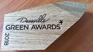 Trophée d'Or aux Green Awards 2018 catégorie Eco tourisme et Voyages Responsables