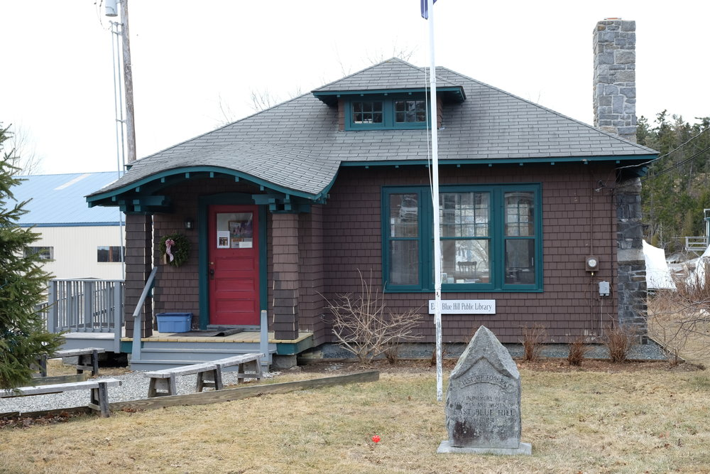 - The East Blue Hill Public Library