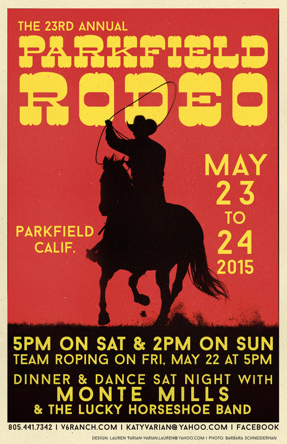 2015 Rodeo Poster