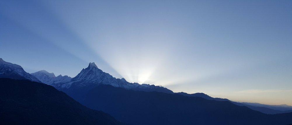 GHOREPANI TO POON HILL - NEPAL