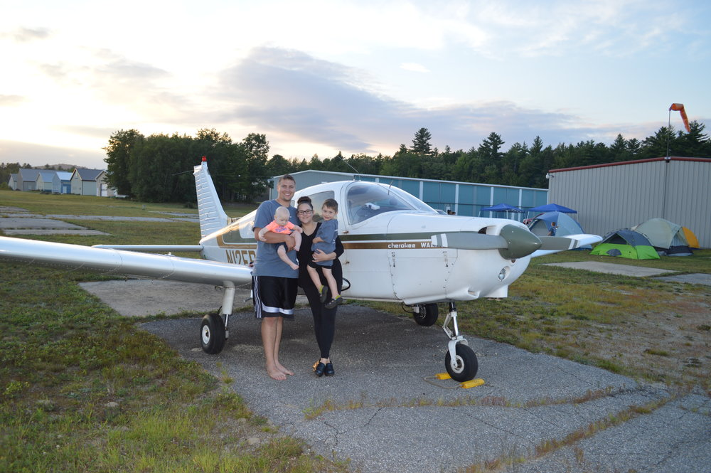 "Summer 2018 - Alec and his family spent the first summer very busy by assisting small churches in Maine with youth outreach events. 5 young people received Christ as their personal Savior this summer! Alec flew N12ER over 1000nm just within the state of Maine between July and August, spreading the Gospel from airstrip to airstrip across the state. PTG Missions assisted Inspirational Aviation Ministries Inc. with a week long teen pilot camp where N12ER flew 33 hours training future missionary pilots out of a golf course in central Maine. In September PTG missions held their first annual mission aviation campout/ fly out weekend teen camp. 9 students attend the weekend event full of Bible study with various missionary pilots from around the globe, aircraft maintenance training, flight training, and outreach as they all camped out alongside the runway at 63B. This summer was busy to say the least, but it was worth it all to see young people's lives changed and influenced to ""strive together for the faith of the Gospel."" Bring on the fall!"