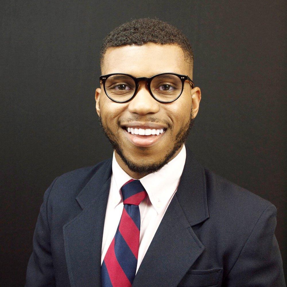 "Director of Student Outreach     Antoine ""Prince"" Albert  Veteran, U.S. Navy"