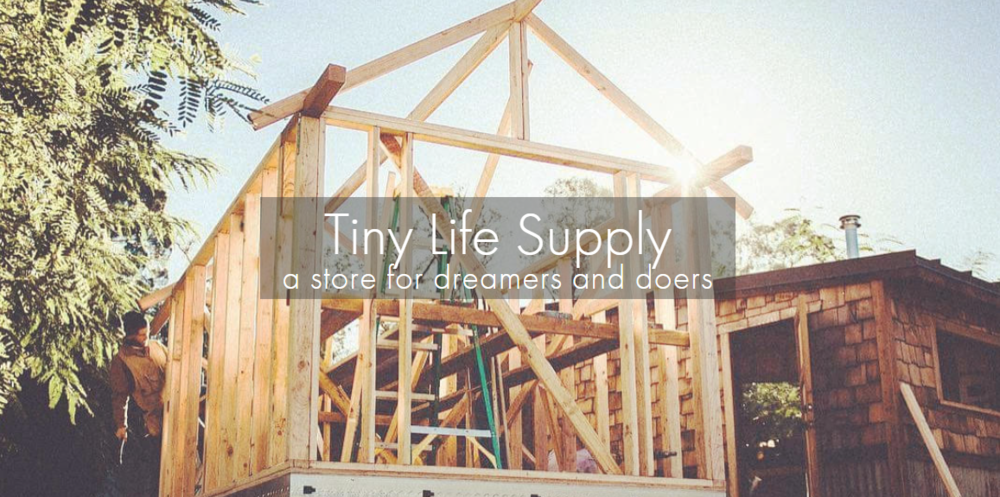 Tiny Life Supply - A huge thanks to Axel Whalen and Jake Daly of Tiny Life Supply! They're a leading source of environmentally responsible products that support sustainable living; offering everything you need to live off-grid. They offer free shipping in Canada and their website hosts a resource hub full of valuable information covering all aspects of living small and off the grid.Thank you for supporting our projects and for being a steward of the environment!