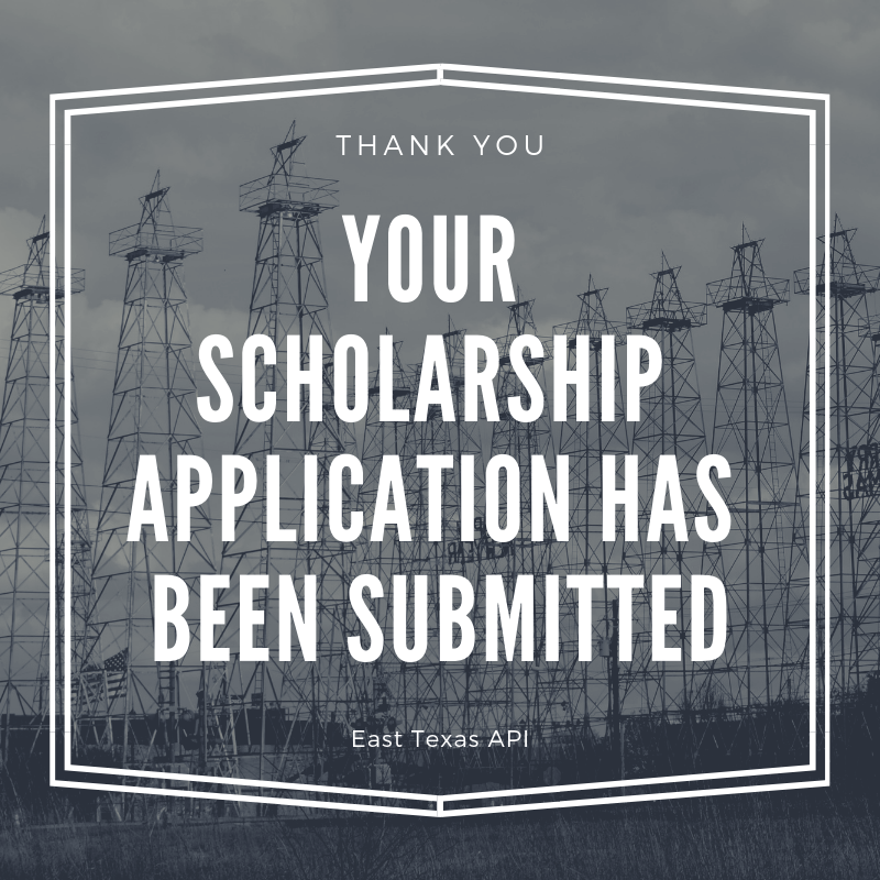 Thank you Scholarship Application