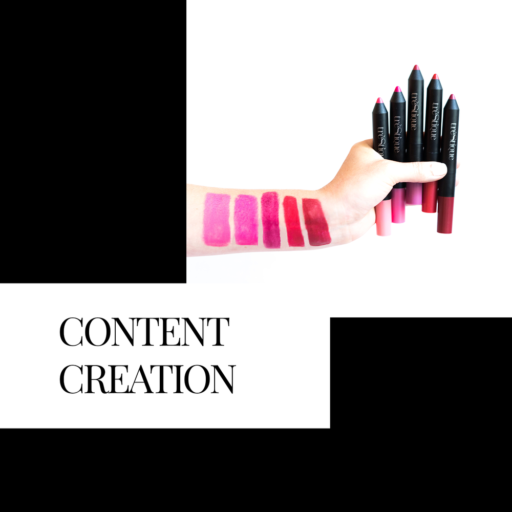 creative content - Social media is driven by content... and lots of it. From graphic design and photography to video shoots and editing, we take your vision and make it a reality.