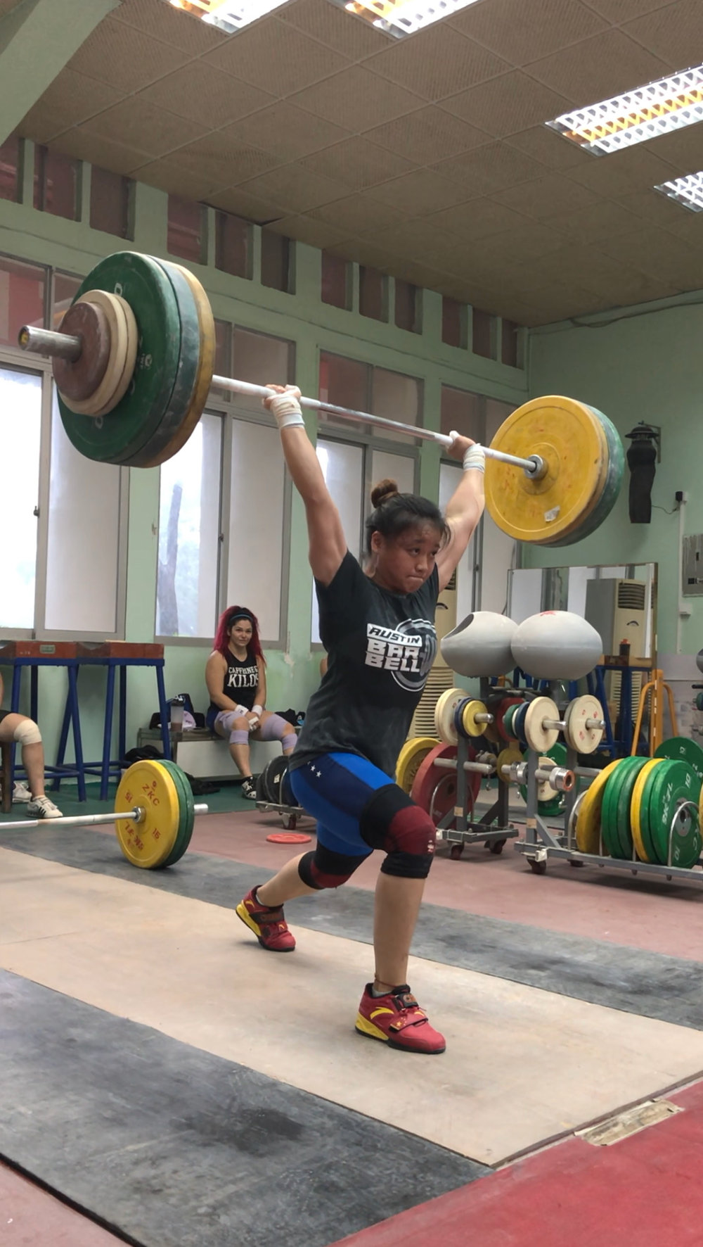 76877e785c54 Chinese Method - Split Jerk Clinic