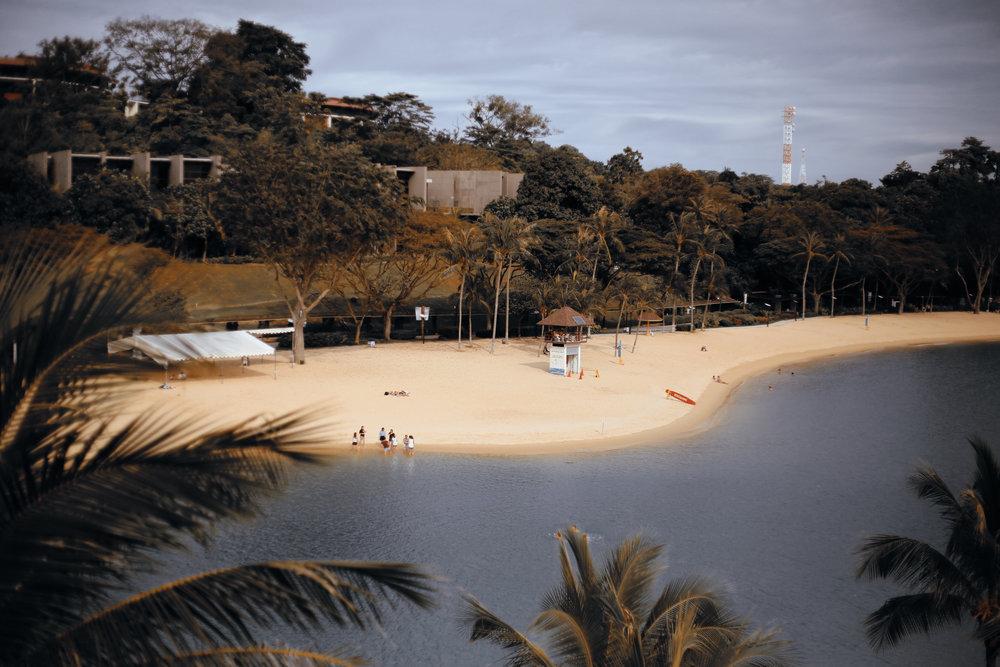 Sentosa island in Singapore Asia