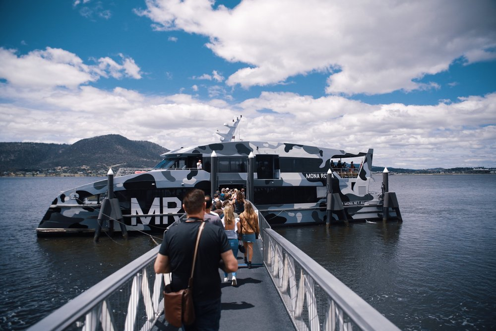 Mona museum ferry