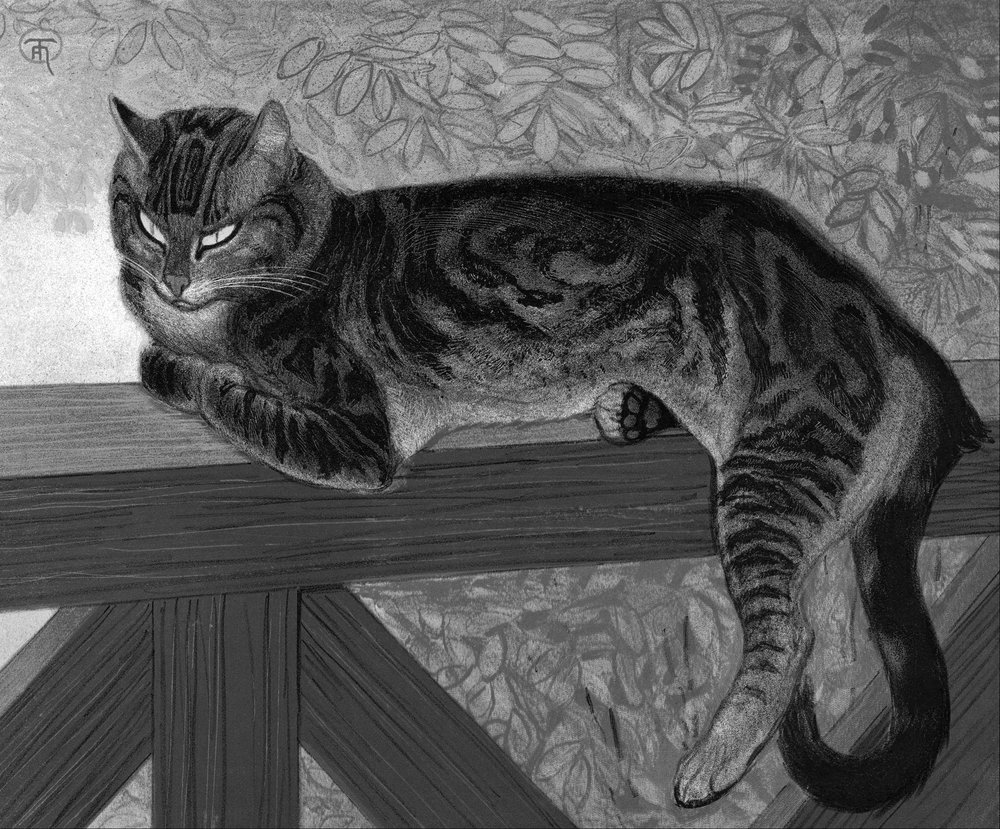 Théophile_Alexandre_Steinlen_-_Summer-_Cat_on_a_Balustrade_-_Google_Art_Project.jpg