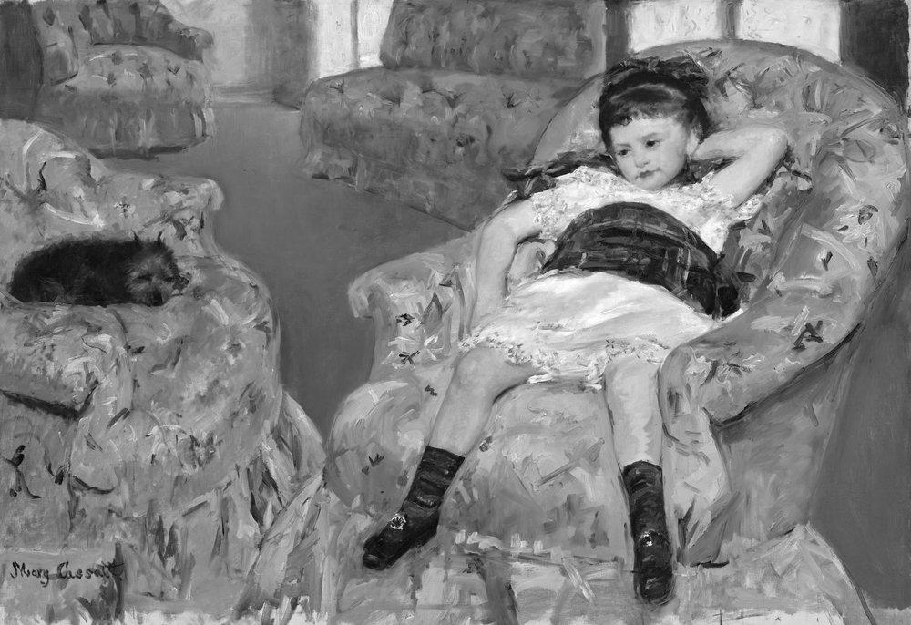 little-girl-in-a-blue-armchairbw.jpg