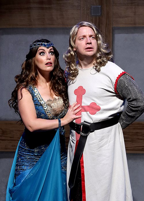 Featuring Charlie Reese as Sir Galahad and Jackie Schmillen as The Lady of the Lake