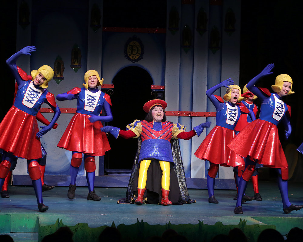 Featuring Mark Maddy as Lord Farquaad and company