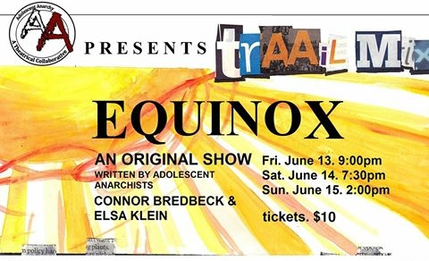 Equinox - Des Moines Playhouse: September 2014