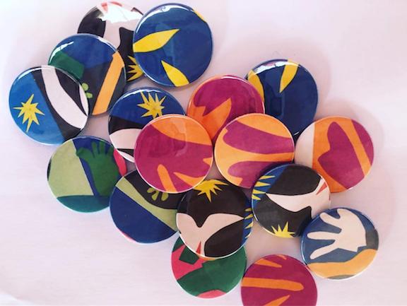 Matisse Badges