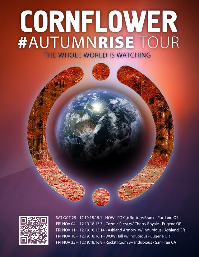 Cornflower AutumnRise 2011 Tour