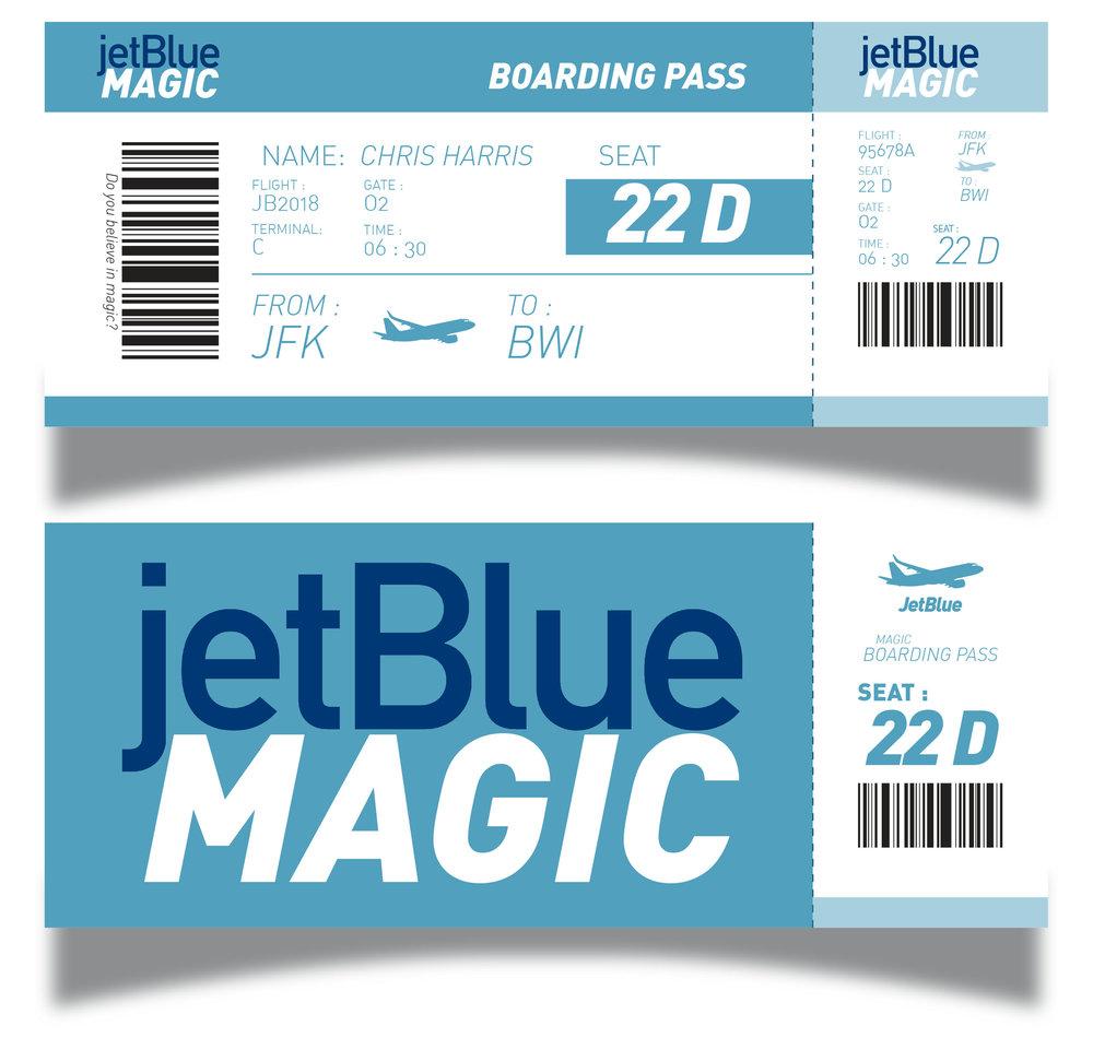 Imagining JetBlue\'s 20th Anniversary — Christine Alix