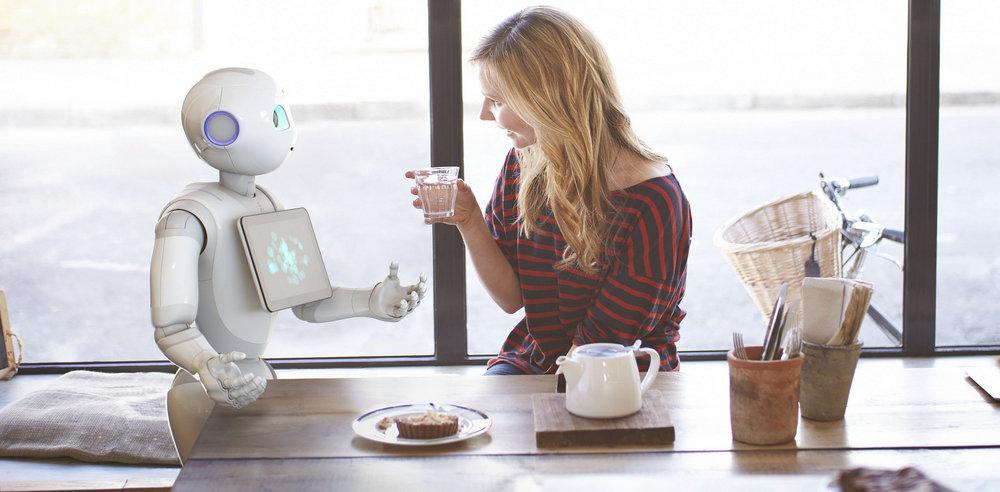 Softbank - Robot Service Assistant