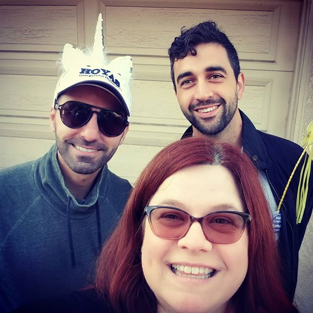Canvassing for Blue Wave candidates today! Elizabeth Talbott (Waterford City Council), Keristofer Seryani (Turlock School Board), and Andrew Nosrati (Turlock City Council)