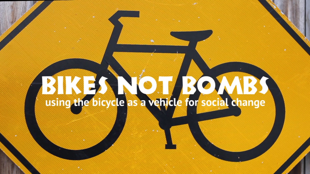 client: BIKES NOT BOMBS role: PRODUCER  VIDEOGRAPHER  EDITOR