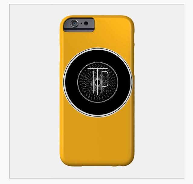 INTO THE PORTAL RECORD ICON PHONE CASE