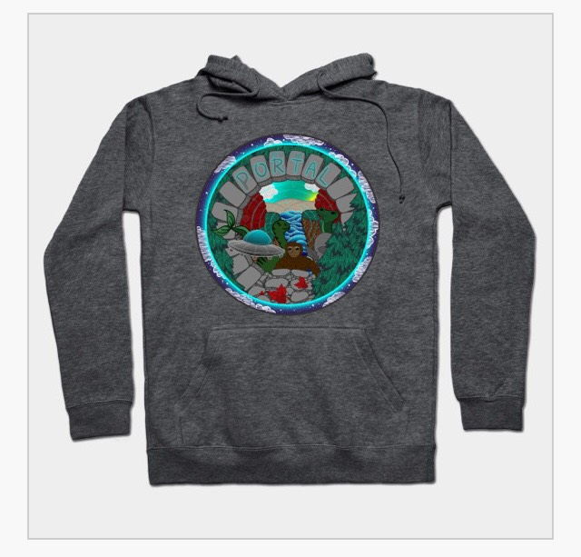 PEER INTO THE PORTAL HOODIE