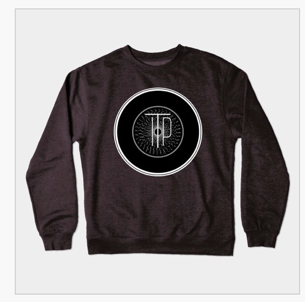 INTO THE PORTAL RECORD ICON CREWNECK