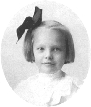 Young Earhart, date unknown.