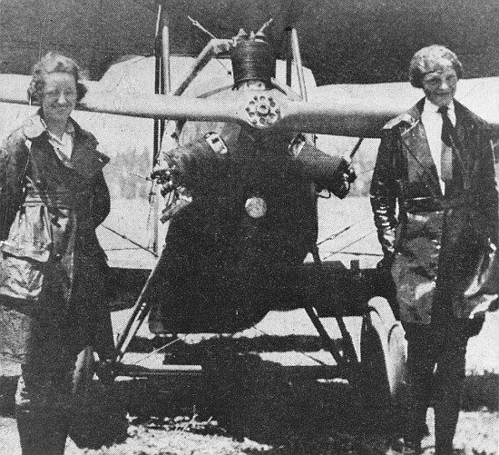 Earhart and Snook, date unknown.